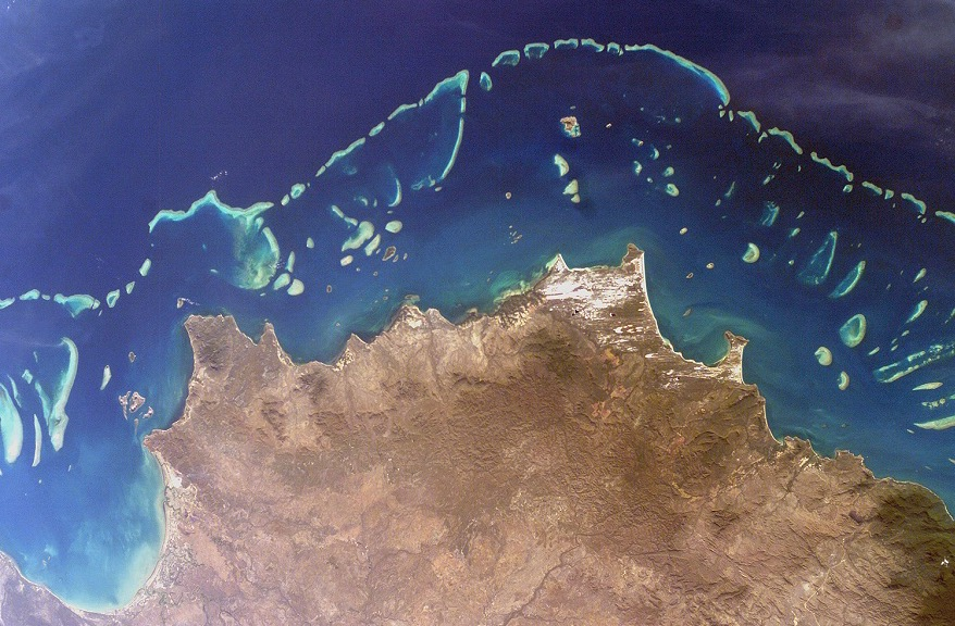 Great Barrier Reef From Space Principia Scientific