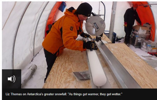 Big increase in Antarctic snowfall | Principia Scientific International